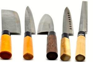 Cuchillos que se afilan